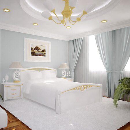 Красивая тюль в спальню